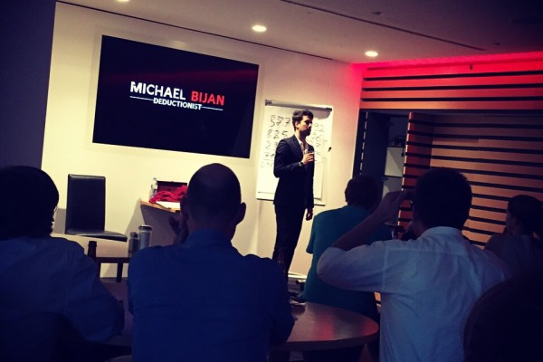 Firmenevent Michael Bijan