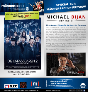 Mentalist und Zauberer München - Now you See Me Preview Show