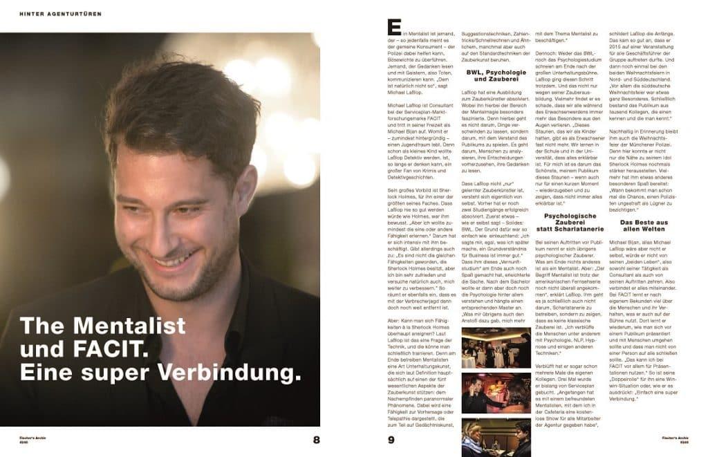 Mentalist und Zauberer München - Interview