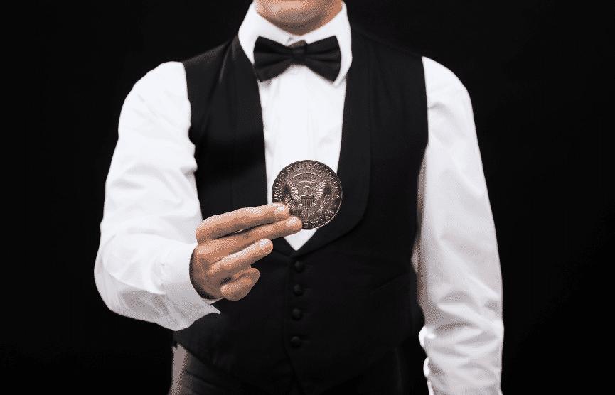 Zauberer München Münze